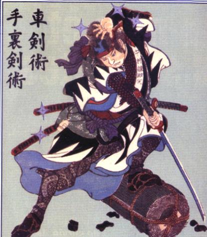 256 Võ thuật Nhật trong binh thư cổ truyền